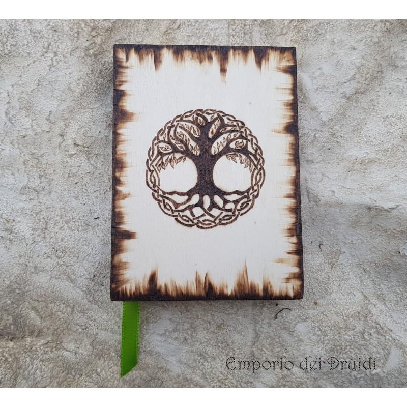 Libro dell Ombre/Diario - Tree of Life - fatto a mano (piccolo)