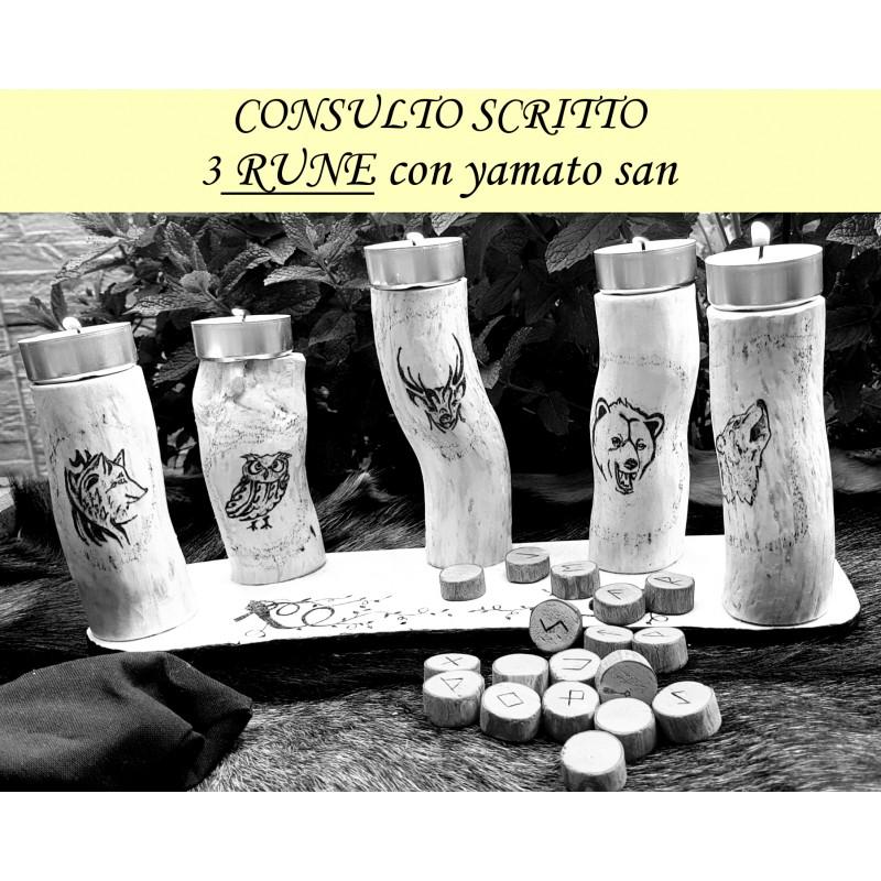 CONSULTO RUNICO - 3 RUNE