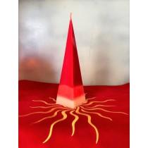 Candela Piramide Rossa e Bianca
