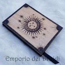 Piccolo Libro delle ombre / Diario - Sole&Luna - fatto a mano