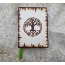 Libro dell Ombre/Diario - Tree of Life - fatto a mano (piccolo)