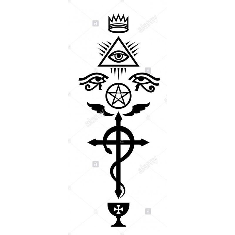 Lettura con la croce mistica