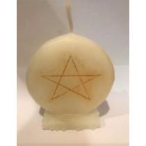 Candela Sigillo Pentagramma