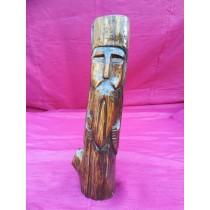 Statuetta in legno magica della fortuna